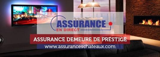 Assurance pour Châteaux Grandes propriétés et Demeures d'exceptions
